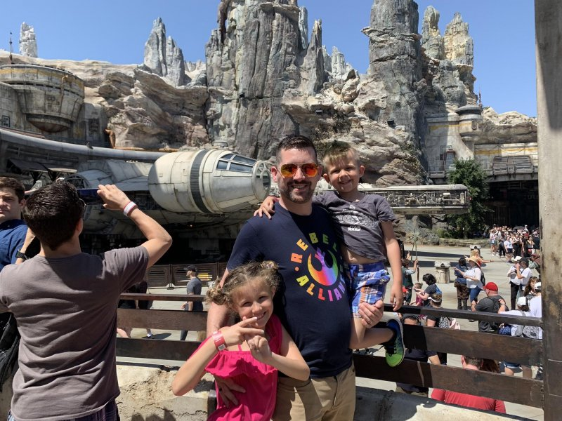 Visiting Star Wars: Galaxy's Edge 🚀🌌