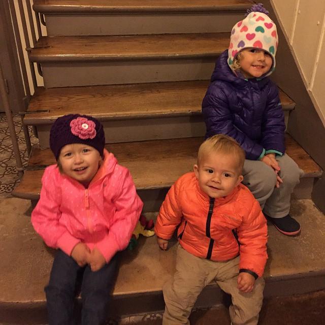 The kiddos.