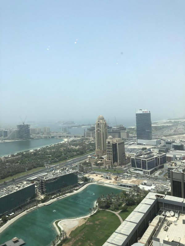 Hazy day in Dubai