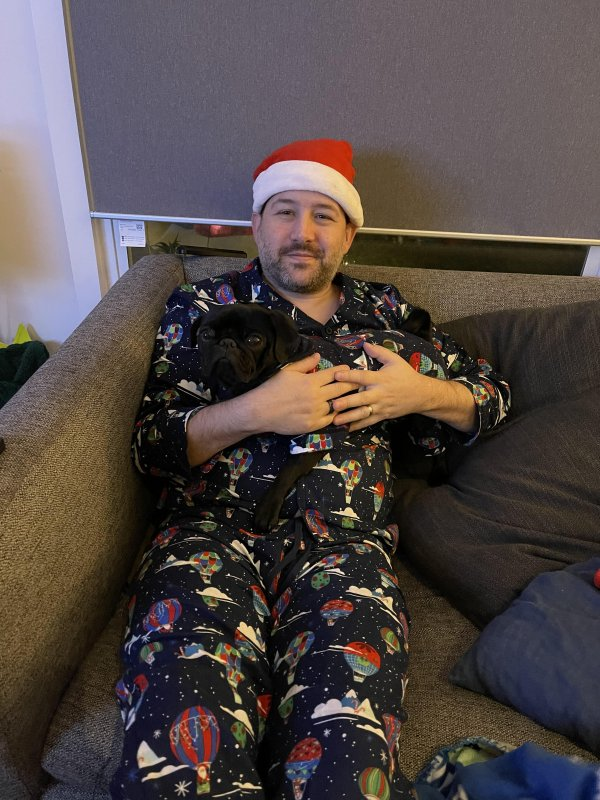 Christmas Eve, LaCour style! 🎄