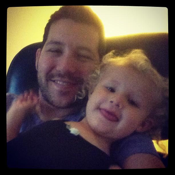 Watching The Little Mermaid with my little gymnast on a relaxing Saturday. Great way to recover from a cold!
