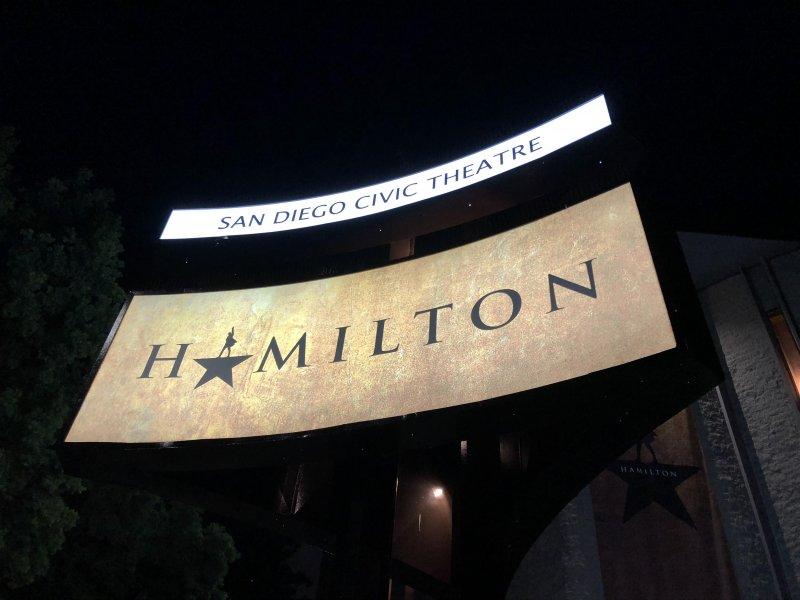 Hamilton, once again!