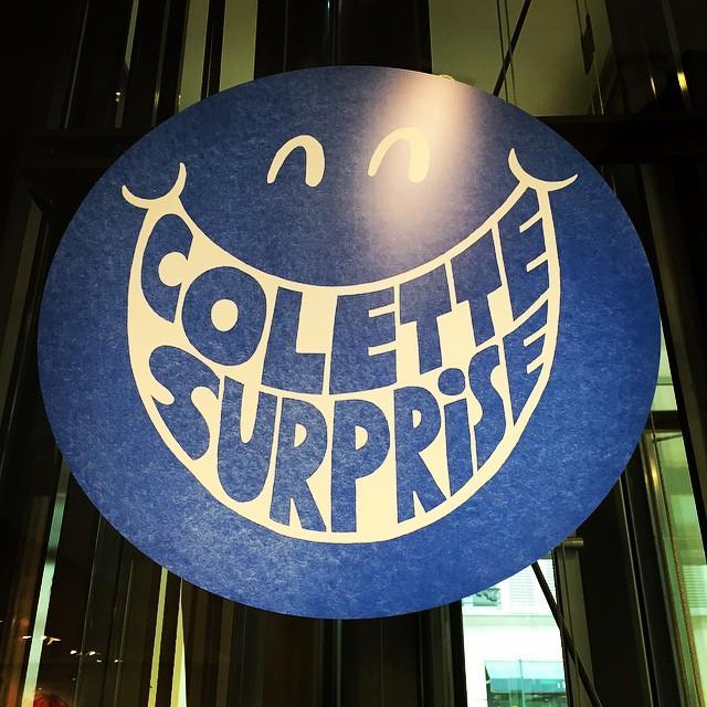 Colette surprise.