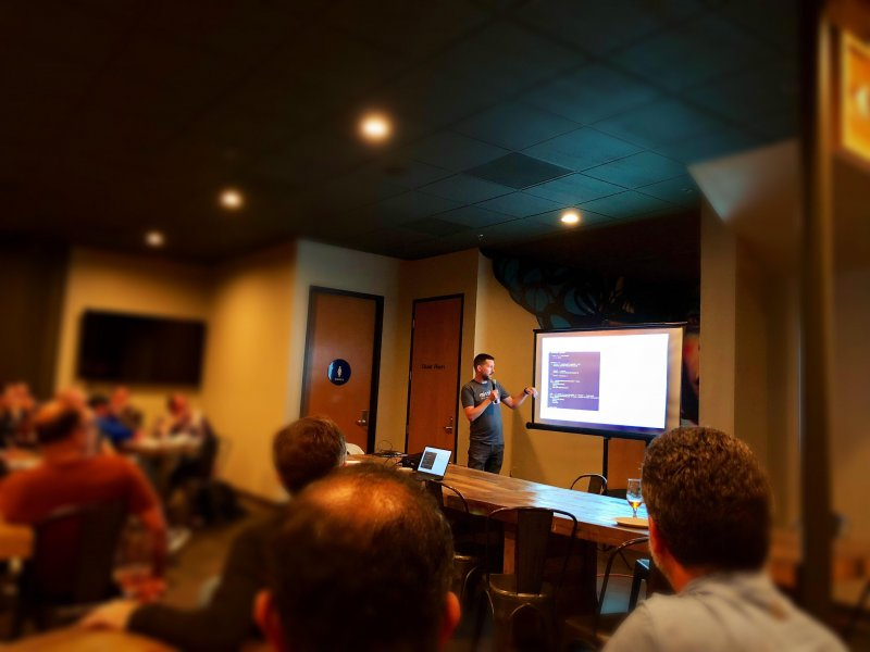 Presented to the San Diego AWS User Group last night ☁️