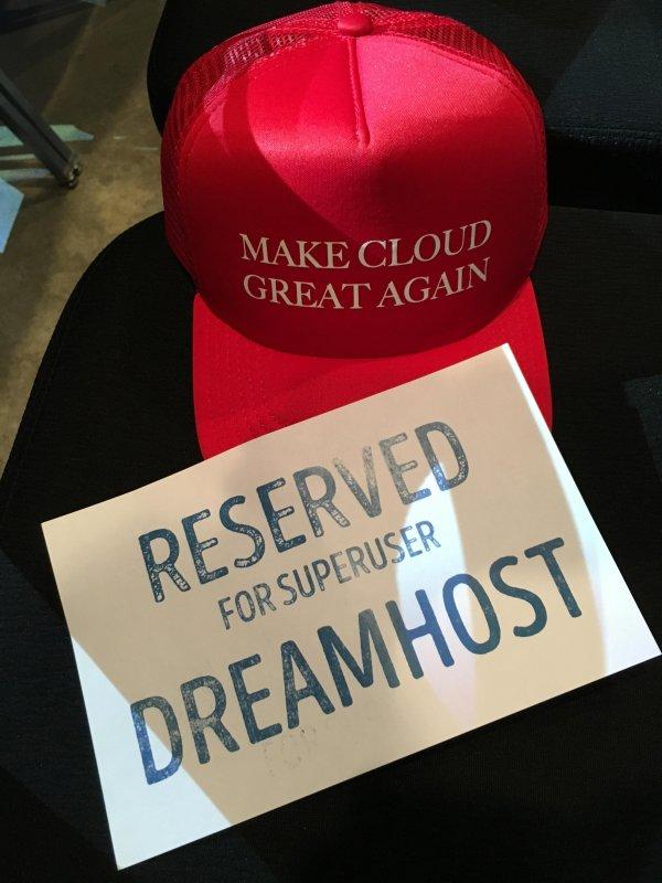 Go DreamHost go!