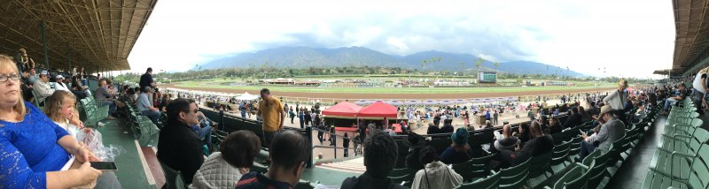 Derby day at Santa Anita Race Track