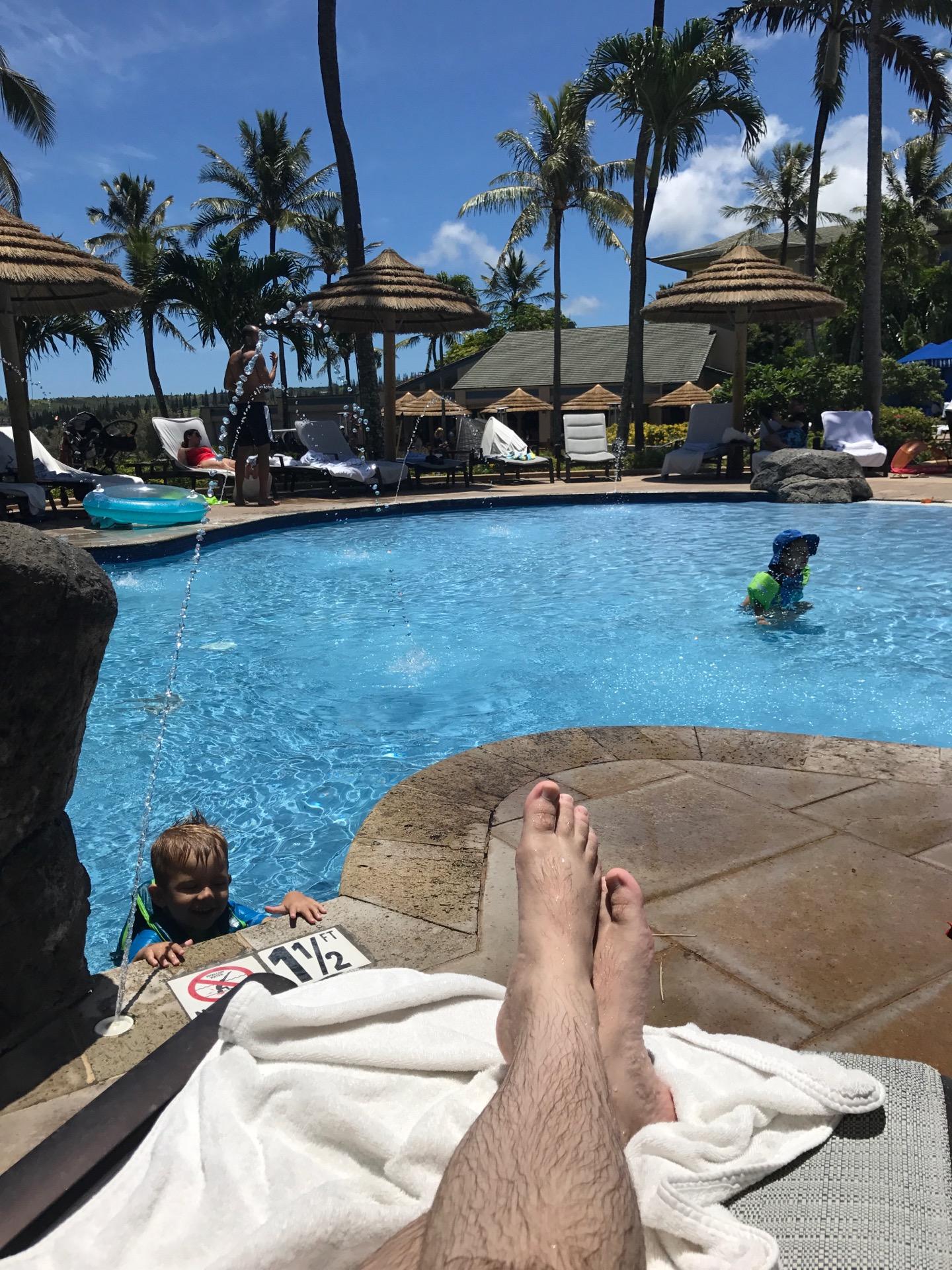 The Pool at The Ritz-Carlton Kapalua