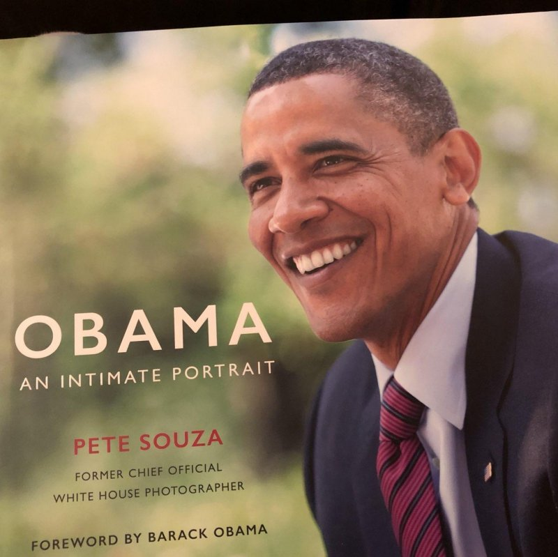 Not only do I get to see Pete Souza speak, I get a signed copy of his lovely book. 📚