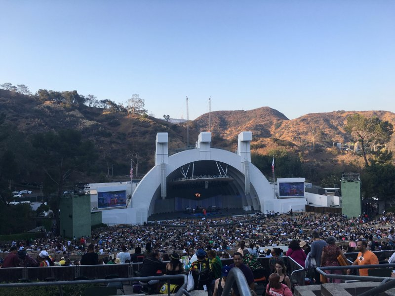 Reggae night at the Hollywood Bowl!