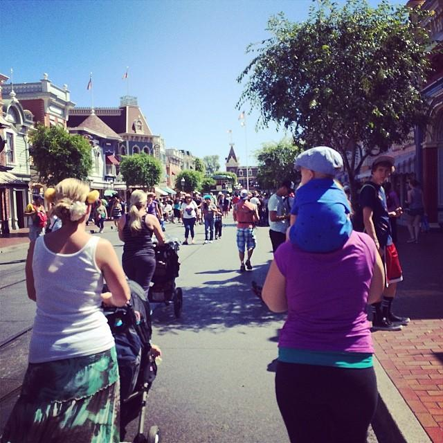 Taking it in on Main St. USA