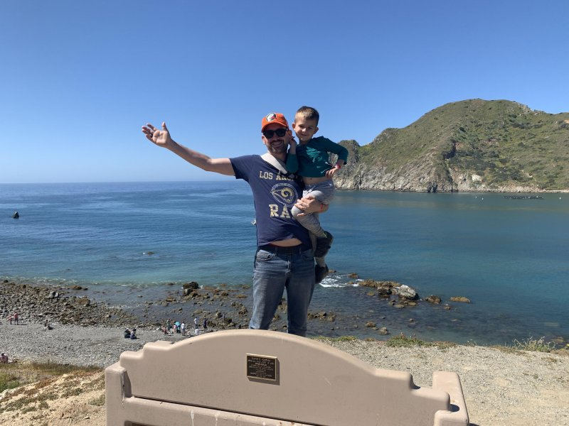Catalina Camping with William 🏕 👦🏼