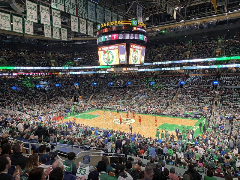 It's cool being the official cloud partner of the @Celtics