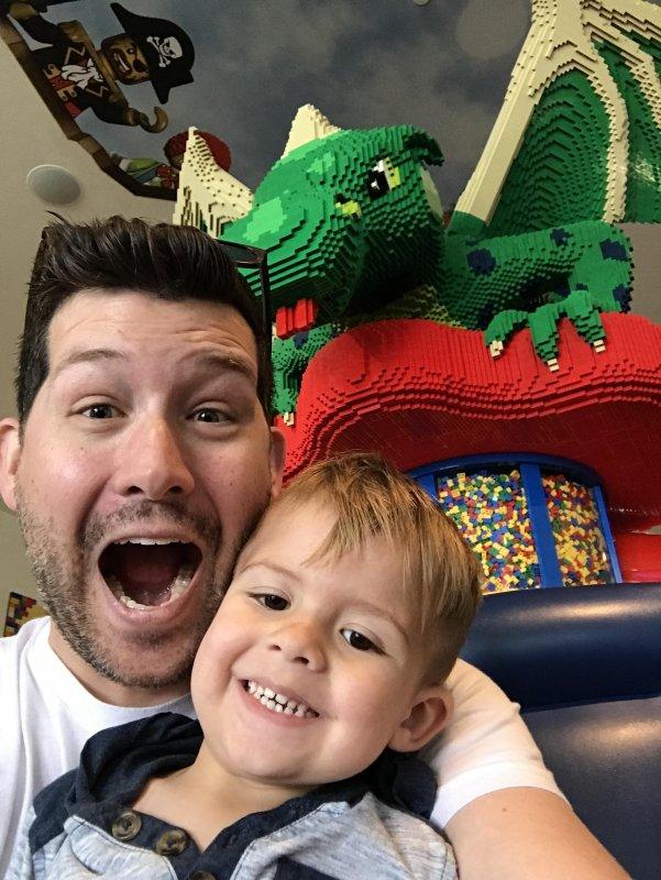Boys weekend at Legoland!