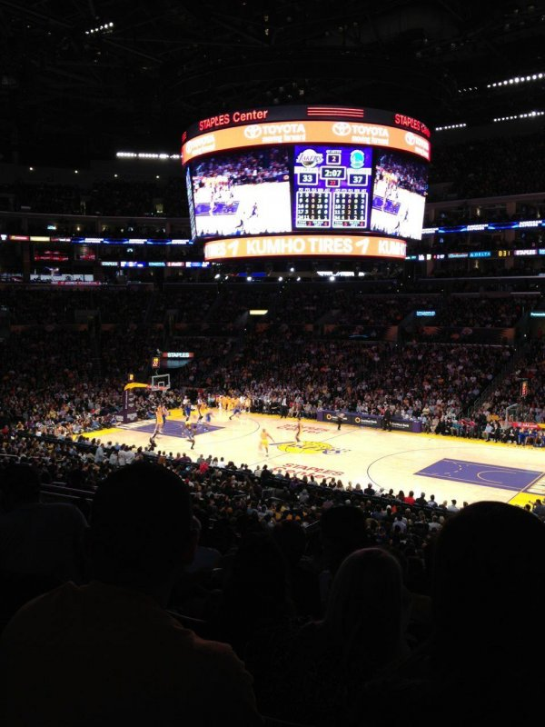 Lakers game!
