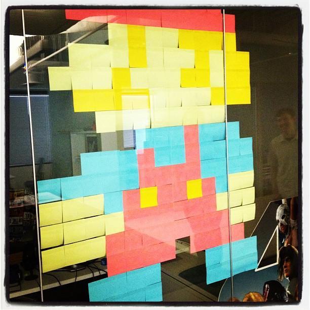 Office art at @dreamhost Brea.