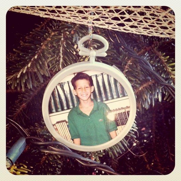 Embarrassing ornament.