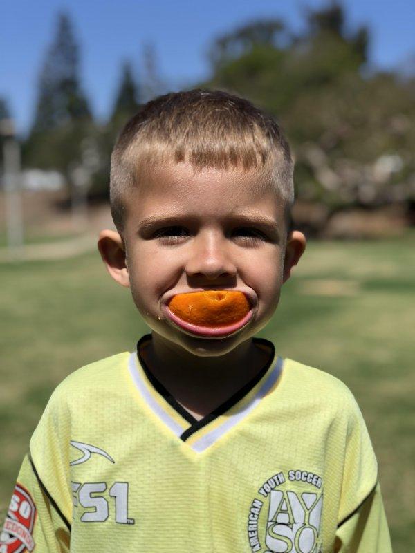 Soccer boy ⚽️🍊