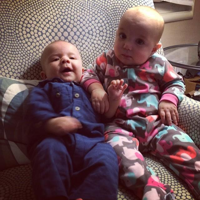 Baby buddies.