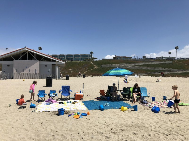 Mother's Day at the Beach
