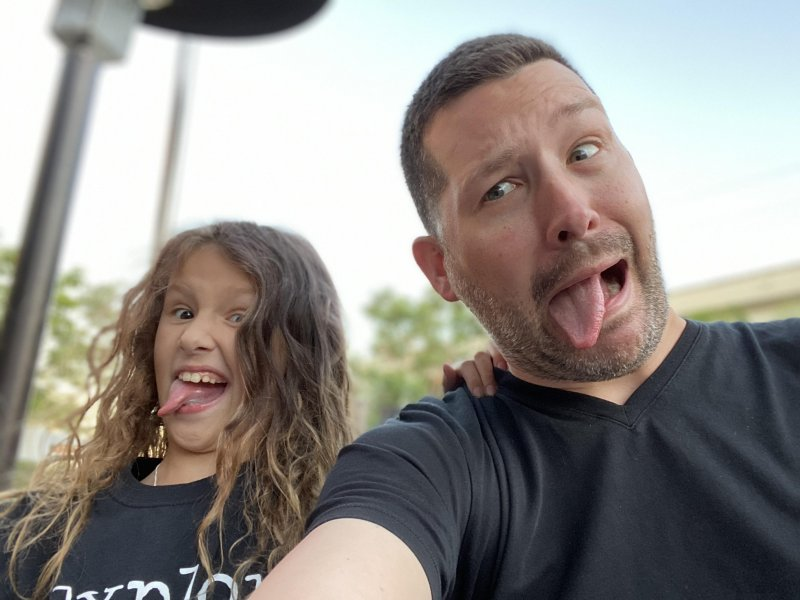 Daddy Daughter Date Night Silliness 💗🤪