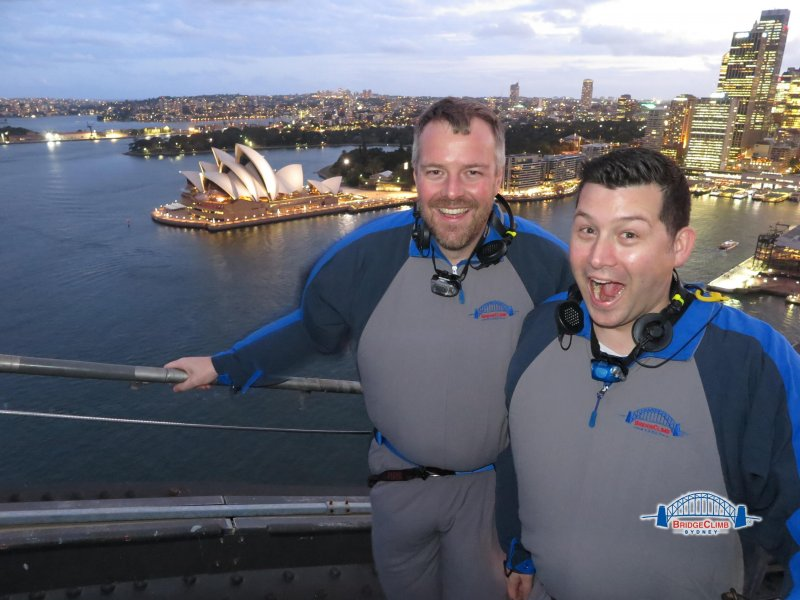 Sydney Bridge Climb with Mark