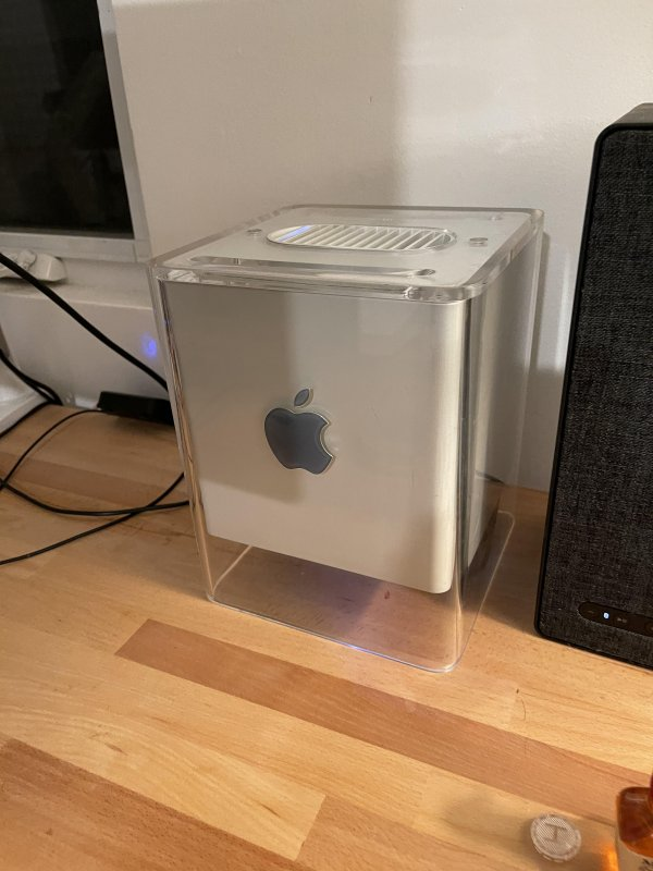 🍎 Modern G4 Cube is Working 🧊