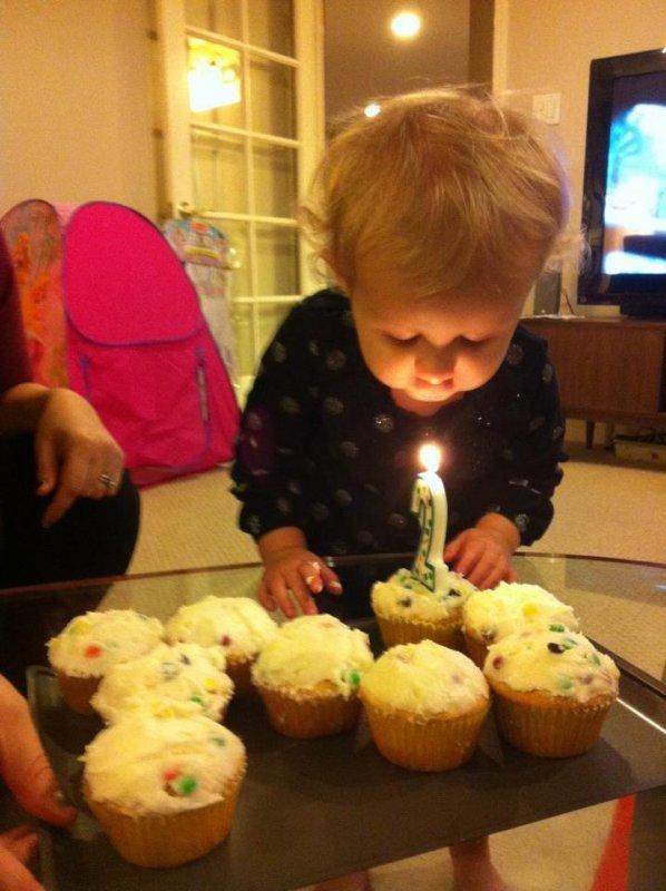 Happy birthday, little one.