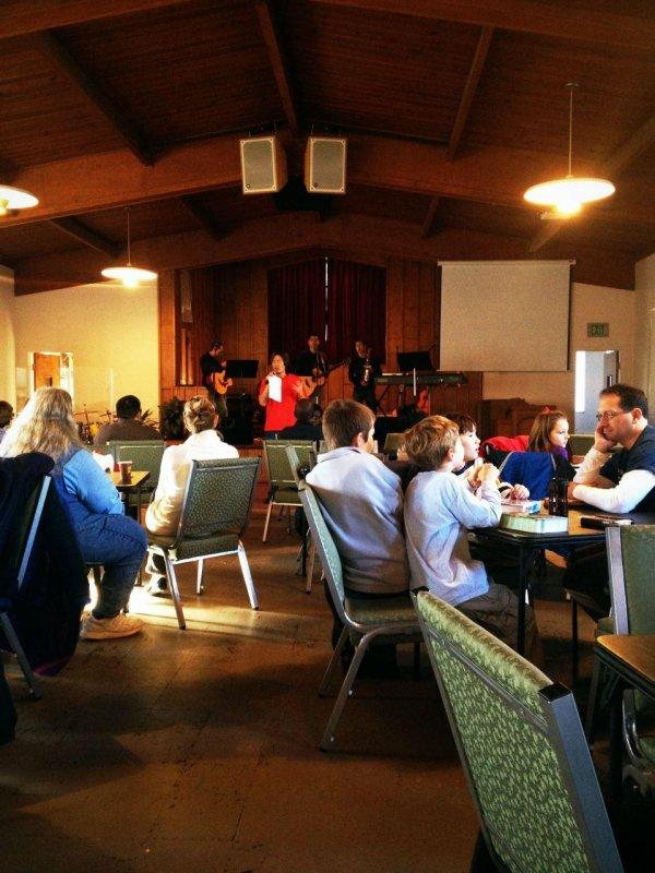 Worship with our church family on the east coast. Praise God!