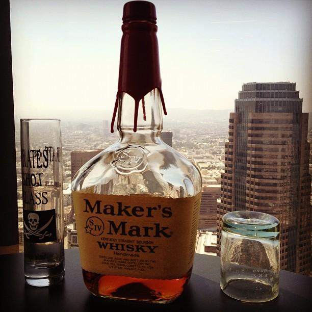 Today is bourbon day! Celebrating in downtown LA. /cc @LeannMarieG