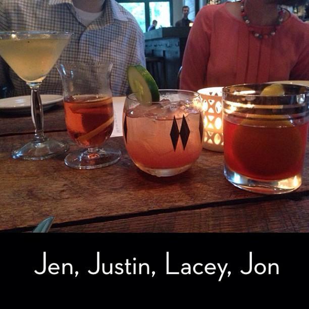 Jen, Justin, Lacey, Jon.