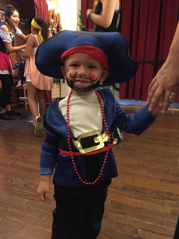 My little pirate