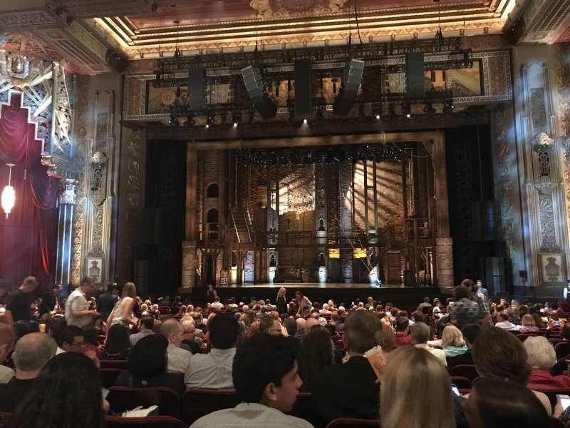 Hamilton at Pantages! Great seats.