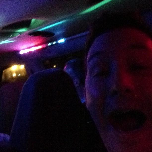 Disco van on the way to the @DreamHost #OpenStack party. FTW.