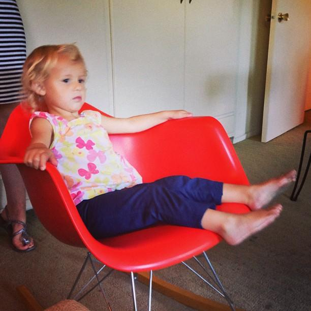 Colette. Eames style. Rockin.