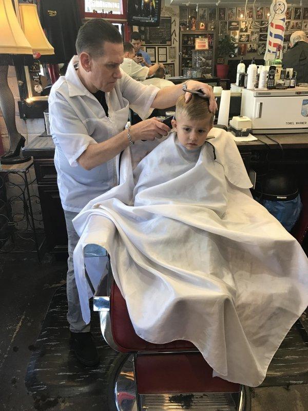 Barber time