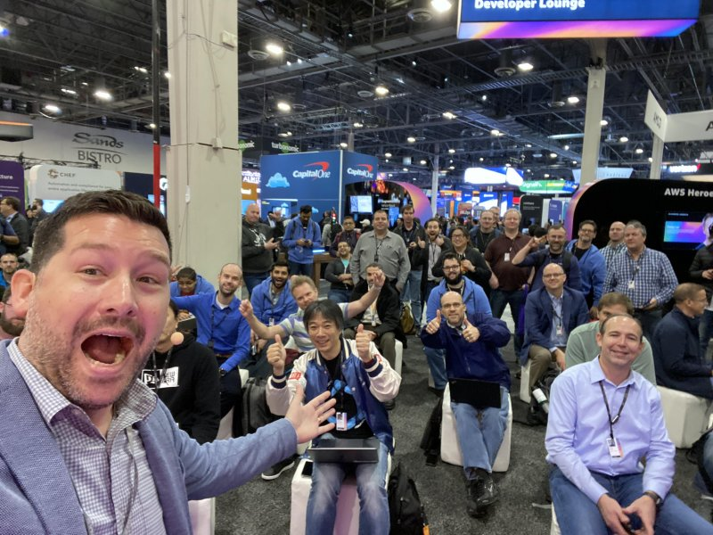 Thanks for coming out to my #reInvent talk!